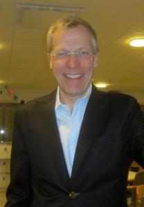 Jan-Erik Hultman, suppleant istyrelsen för GOV. Foto: Eskil Malmberg.