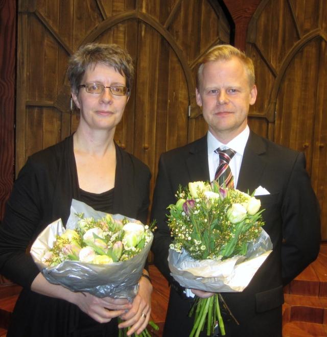Karin Holm och Jonas Olofsson är 2014 års Stipendiater utsedda av GöteborgsOperans Vänner.