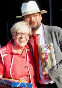 Monica Westerberg-Karsegård och Göran Gademan. Foto: Eskil Malmberg.
