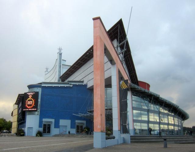 GöteborgsOperan från huvudentrén. Foto: Eskil Malmberg.