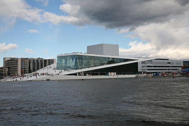 Oslo Opera Bjørvika, 2007, foto: Wikimedia Commons