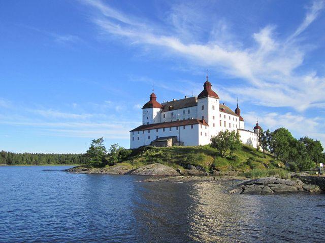 Läckö slott, foto från Wikimedia Commons.