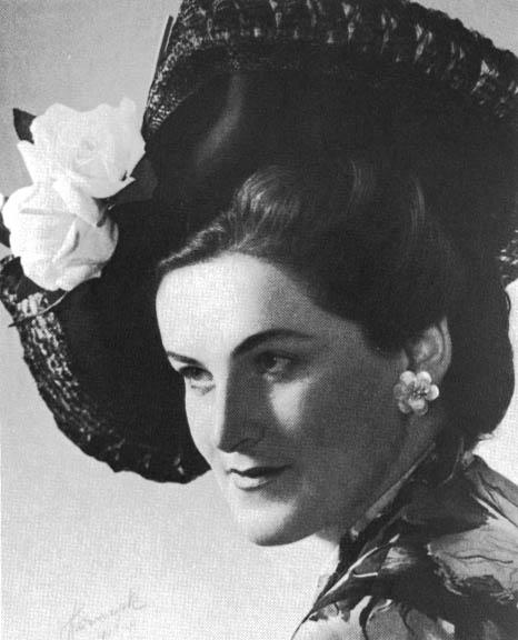Birgit Nilsson 1948. Foto - Gunnar Harnesk