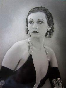 Zarah Leander 1931. Foto: Louis Huch.