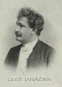 Leoš_Janáček, 1899. Foto från Wikimedia Commons.