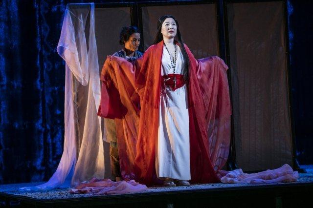 Katarina Giotas och Jung Nan Yoon, foto - Mats Bäcker
