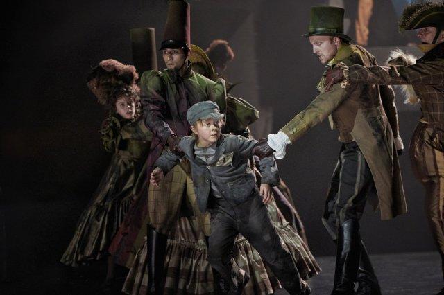 Viktor Werlenius som Oliver. Foto; Lennart Sjöberg